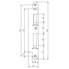 Запорная планка ABLOY EA322