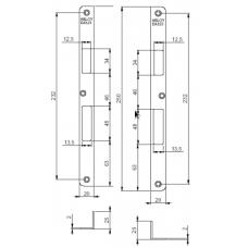 Запорная планка ABLOY EA323
