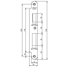 Запорная планка ABLOY EA324